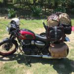 「パンダTC」や「サーカスTC」をバイク(W800)に積載してみた