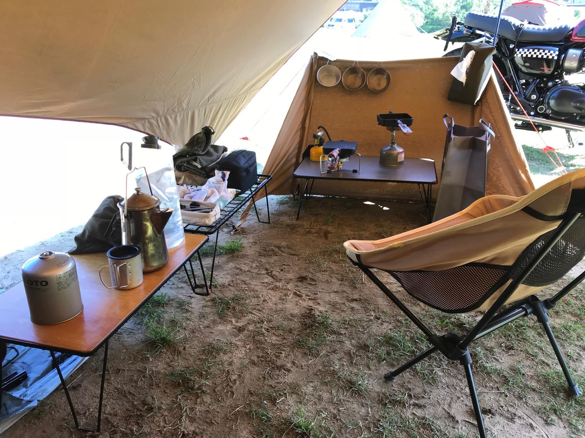ソロキャンプ道具リストの買い替え歴をまとめてみた