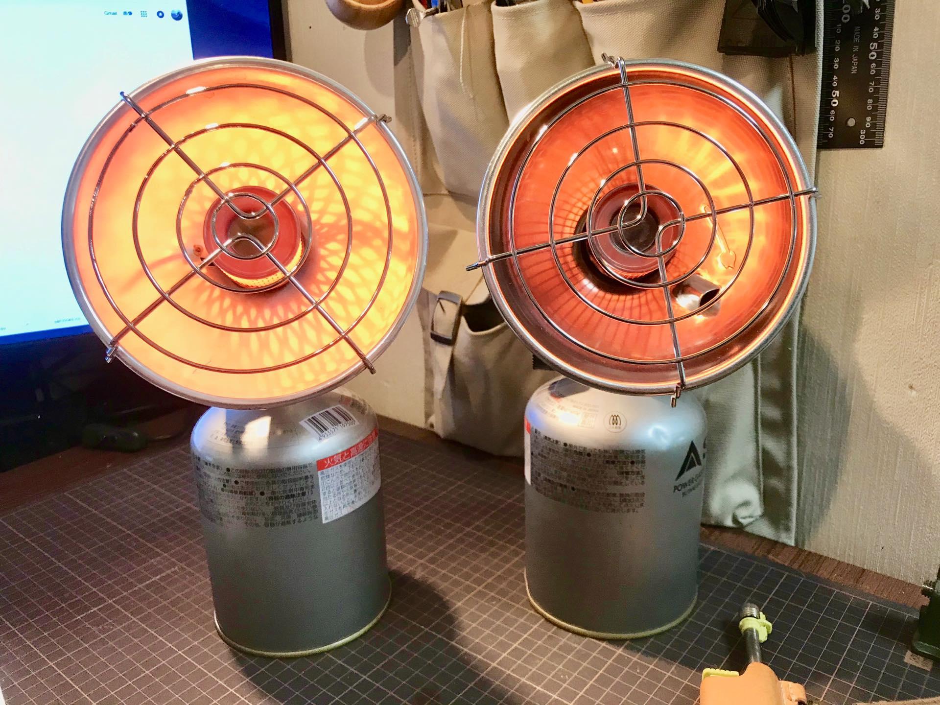 コールマン クイックヒーターと中華版 クイックヒーターを比較してみた